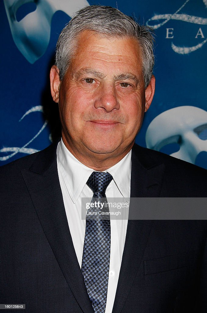 Cameron Mackintosh attends 'The Phantom Of The Opera' Broadway 25th Anniversary at Majestic Theatre on January 26, 2013 in New York, New York.