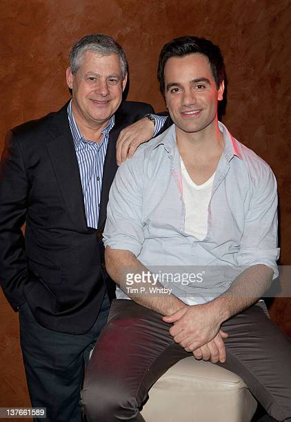 Cameron Mackintosh launches Ramin Karimloo his lead man in Les Miserables before performing tracks from his forthcoming album 'Ramin' at Cafe de...