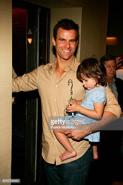 Cameron Mathison and Leila Emmanuelle Mathison attend A CELEBRATION OF CHILDREN National Love Our Children Day at Spotlight Live on April 5 2008 in...