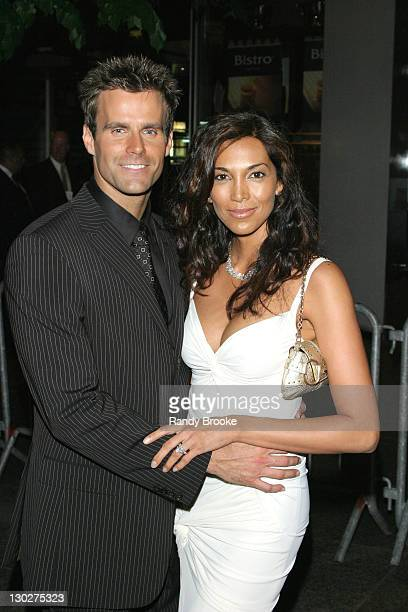 Cameron Mathison and Wife during 31st Annual Daytime Emmy Awards Arrivals at Radio City Music Hall in New York City New York United States