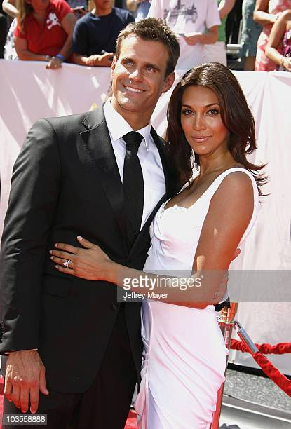 Cameron Mathison and wife Vanessa arrive at the 35th Annual Daytime Emmy Awards on June 20 2008 in Los Angeles California