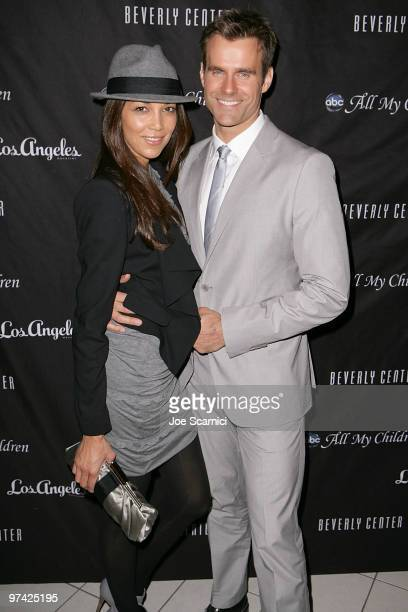 Cameron Mathison and wife Vanessa arrive at the All My Children 40th Anniversary Celebration hosted by Los Angeles Magazine at The Beverly Center on...