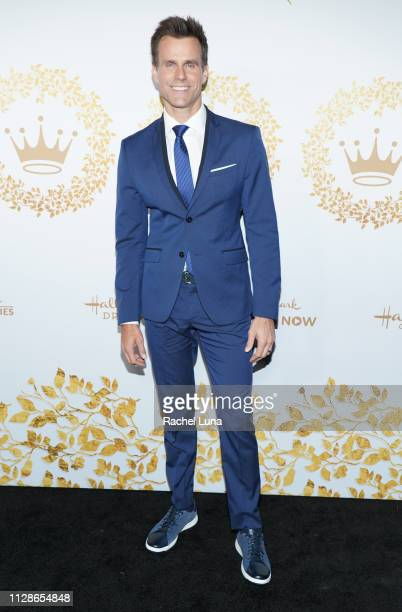 Cameron Mathison attends Hallmark Channel And Hallmark Movies And Mysteries 2019 Winter TCA Tour at Tournament House on February 09 2019 in Pasadena...