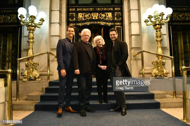 Cameron Mathison, Bruce Davidson, Julia Duffy and Ryan Paevey attend Hallmark Channel's celebration of the 10th Anniversary Of COUNTDOWN TO CHRISTMAS...
