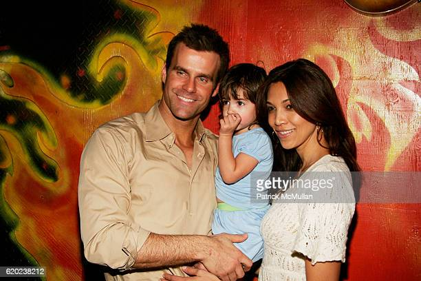Cameron Mathison Leila Emmanuelle Mathison and Vanessa Arevalo attend A CELEBRATION OF CHILDREN National Love Our Children Day at Spotlight Live on...