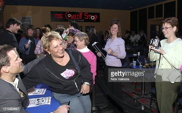 """Cameron Mathison of """"All My Children"""" with fans during Soap Stud Spectacular - Meet and Greet - March 12, 2005 at Comedy Stop in Atlantic City, New..."""