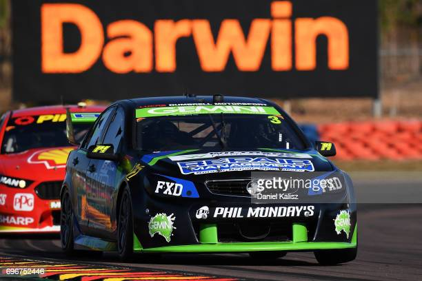 Cameron McConville drives the LD Motorsport Holden Commodore VF during practice 3 for the Darwin Triple Crown which is part of the Supercars...