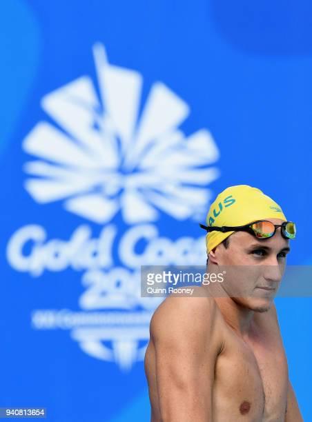 Cameron McEvoy of Australia trains at the Optus Aquatic Centre ahead of the 2018 Commonwealth Games on April 2 2018 in Gold Coast Australia