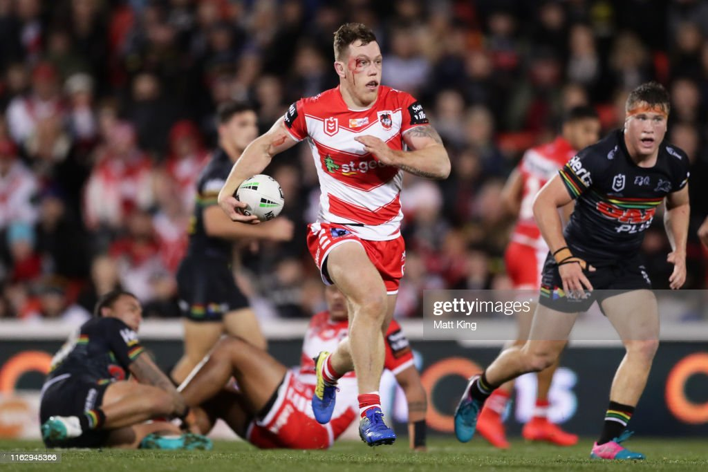 NRL Rd 18 - Panthers v Dragons : News Photo