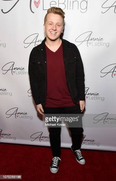 Cameron McLeod attends the Annie LeBling presents Annie LeBlanc Performance Pop Up Shop on December 8 2018 in Los Angeles California