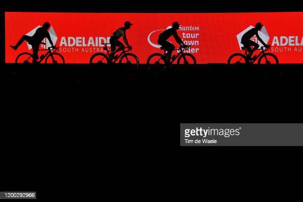 Cameron Meyer of Australia and Team Mitchelton-SCOTT / Michael Hepburn of Australia and Team Mitchelton-SCOTT / Lucas Hamilton of Australia and Team...