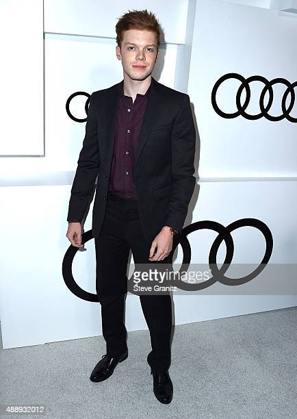 Cameron Monaghan arrives at the Audi Celebrates Emmys Week 2015 at Cecconi's on September 17 2015 in West Hollywood California