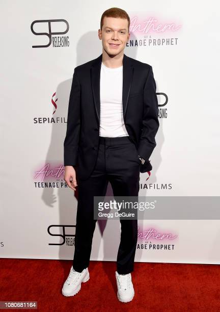 Cameron Monaghan arrives at the premiere of SP Releasing and Sepia Films' Anthem Of A Teenage Prophet at TCL Chinese 6 Theatres on January 10 2019 in...
