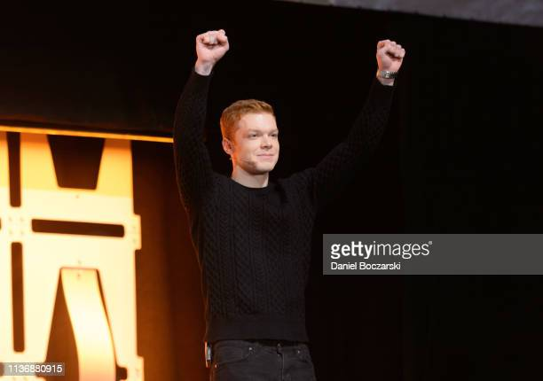 Cameron Monaghan attends as EA and Respawn Entertainment reveal the Star Wars Jedi Fallen Order video game during Star Wars Celebration at McCormick...