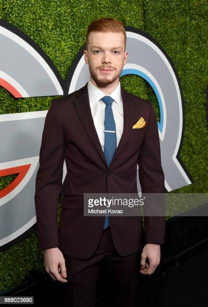 Cameron Monaghan attends the 2017 GQ Men of the Year party at Chateau Marmont on December 7 2017 in Los Angeles California