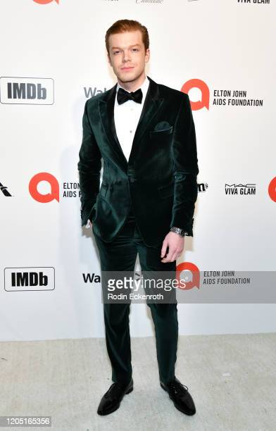 Cameron Monaghan attends the 28th Annual Elton John AIDS Foundation Academy Awards Viewing Party Sponsored By IMDb And Neuro Drinks on February 09...