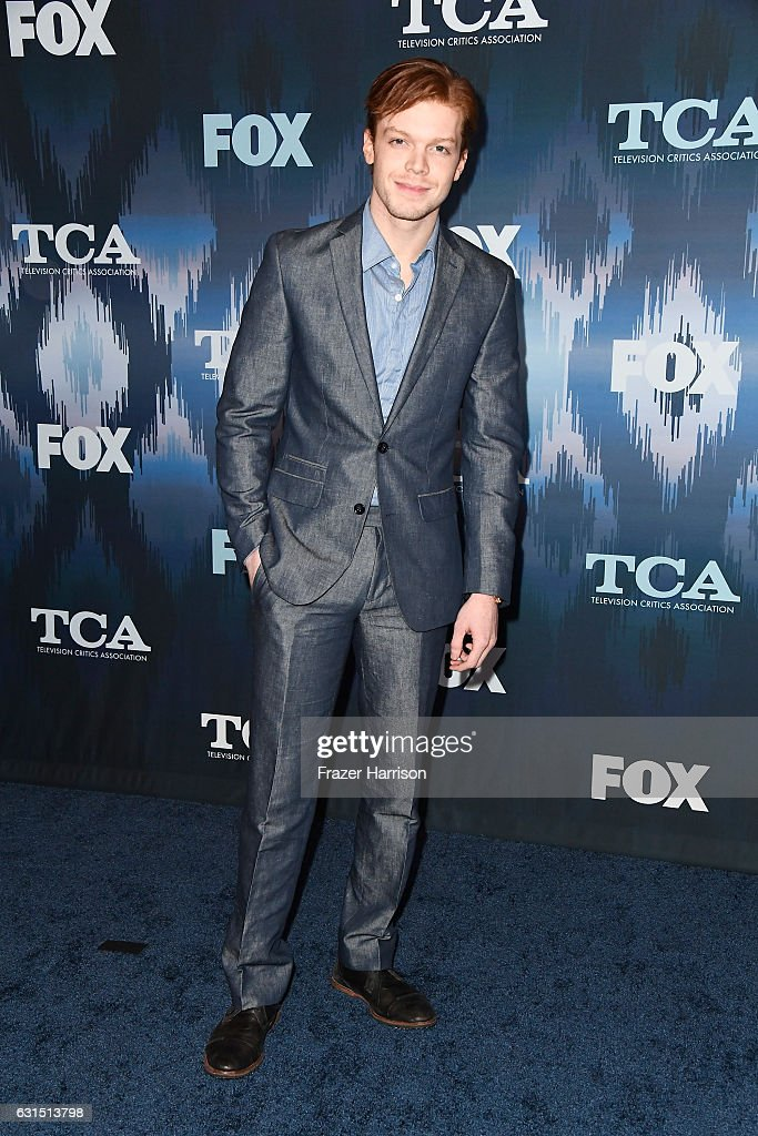 Cameron Monaghan attends the FOX All-Star Party during the 2017 Winter TCA Tour at Langham Hotel on January 11, 2017 in Pasadena, California.
