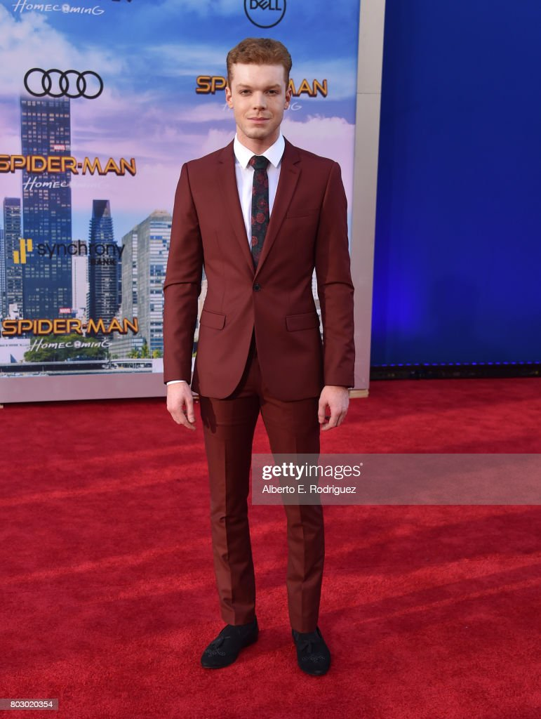 Cameron Monaghan attends the premiere of Columbia Pictures' 'Spider-Man: Homecoming' at TCL Chinese Theatre on June 28, 2017 in Hollywood, California.