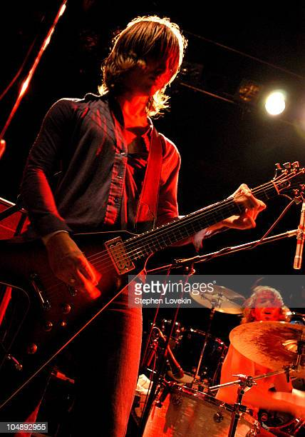 Cameron Muncey and Chris Cester of Jet during Kings of Leon in Concert with Jet and 2220s September 10 2003 at The Bowery Ballroom in New York New...