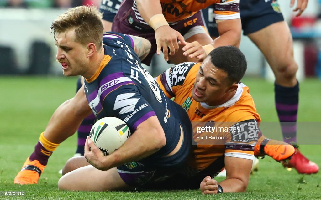 NRL Rd 14 - Storm v Broncos : News Photo