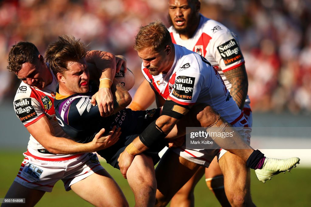 NRL Rd 9 - Dragons v Storm : News Photo