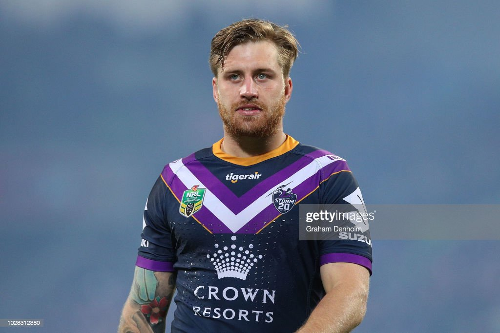 NRL Qualifying Final - Storm v Rabbitohs : News Photo