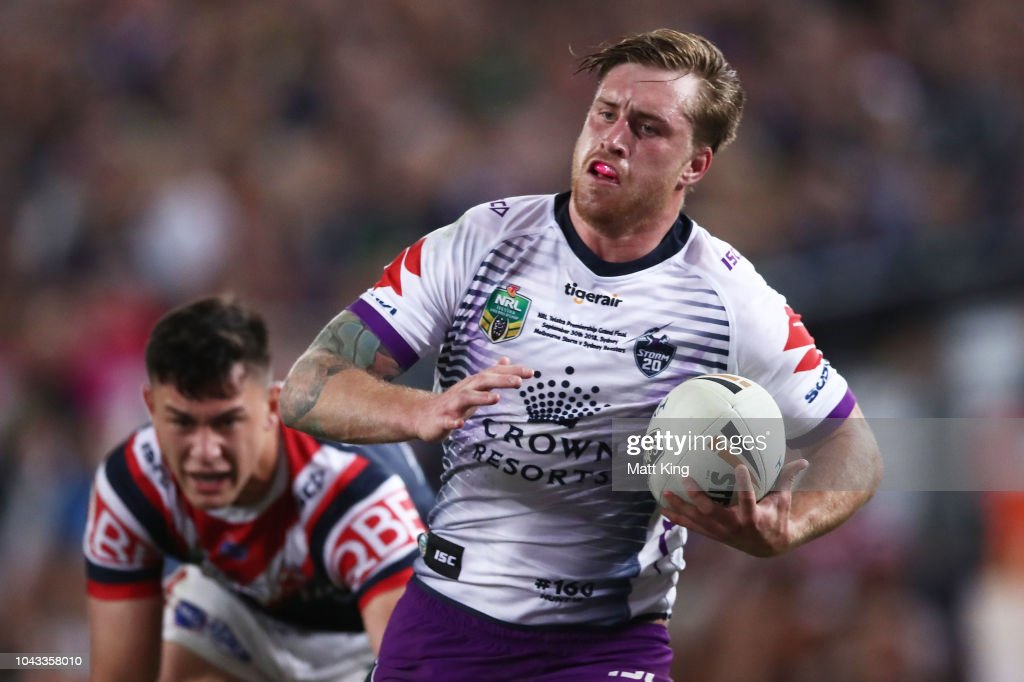 2018 NRL Grand Final - Storm v Roosters : News Photo