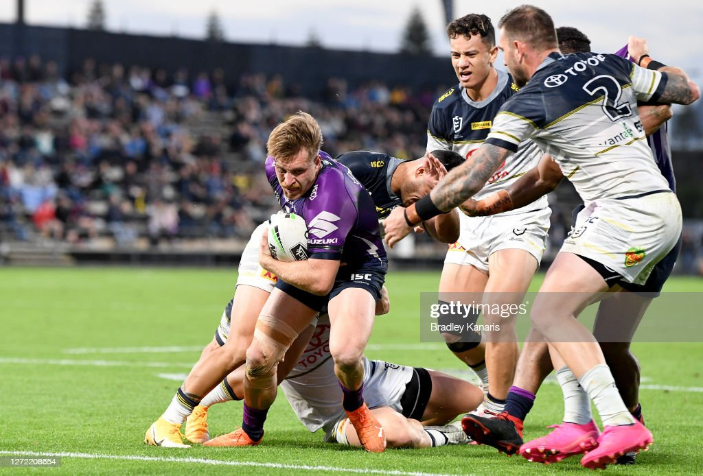 NRL Rd 18 - Storm v Cowboys : News Photo