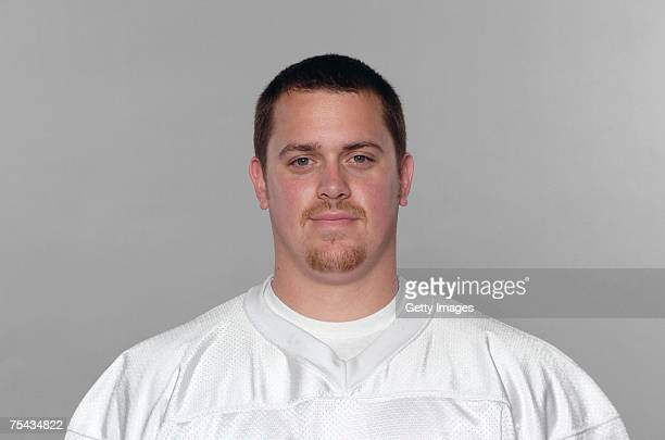 Cameron Muro of the Miami Dolphins poses for his 2007 NFL headshot at photo day in Miami Florida