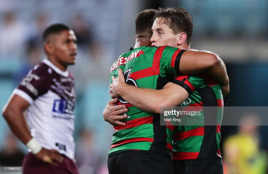 NRL Semi Final - Rabbitohs v Sea Eagles : News Photo
