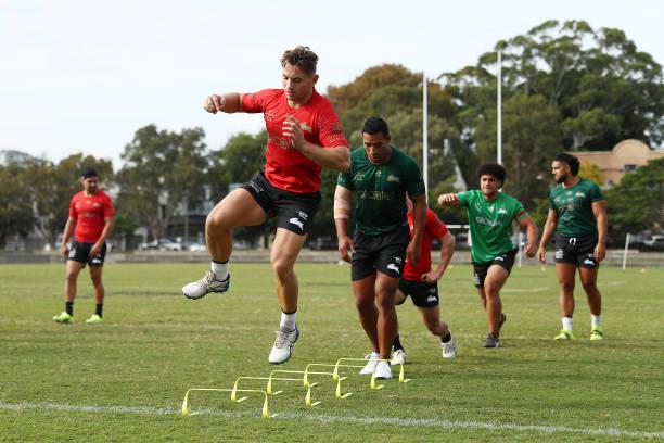 AUS: South Sydney Rabbitohs Training Session