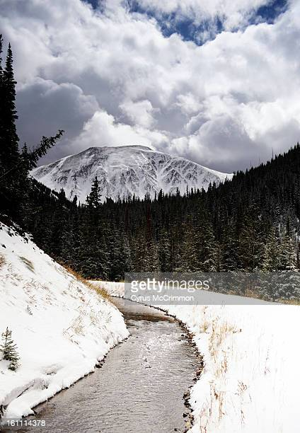 FEXXFDBEER_CM 01 Cameron Pass two hours west of Fort Collins on Thursday October 15 2009 The snow melt here flows through the Michigan Ditch off the...