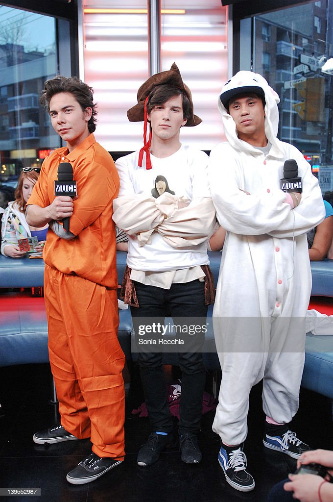 "AllStar Weekend And The Cast Of ""Goon"" Visit MuchMusic Headquarters"