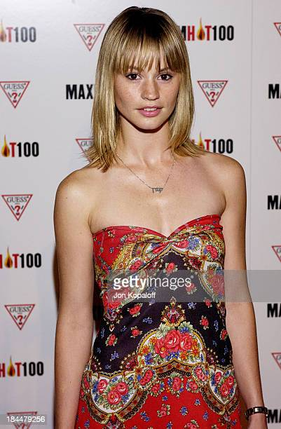 Cameron Richardson during Maxim Hot 100 Party Arrivals at Yamashiro in Hollywood California United States