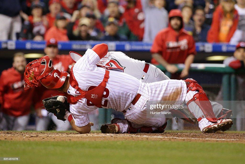 Cincinnati Reds v Philadelphia Phillies : Fotografía de noticias