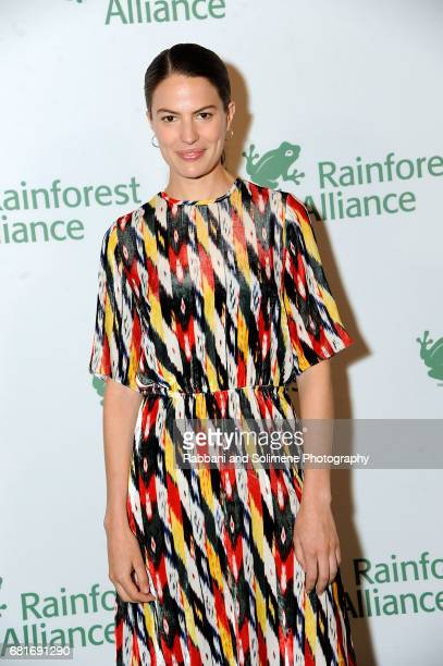 Cameron Russell attends the Rainforest Alliance 30th Anniversary Gala at The American Museum of Natural History on May 10 2017 in New York City