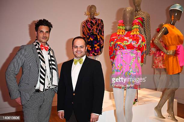 "Cameron Silver and Chris Wrobleski attend the MOCA Leadership Circle reception and members' opening for ""The Total Look: The Creative Collaboration..."