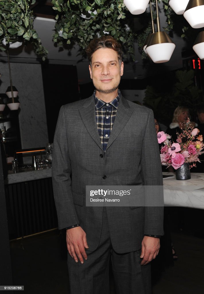 Cameron Silver attends Daily Front Row's 15th Anniversary Celebration on February 6, 2018 in New York City.