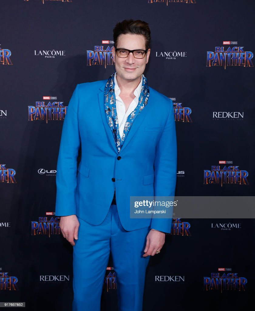 Cameron Silver attends Marvel Studios Presents: Black Panther Welcome To Wakanda during February 2018 New York Fashion Week: The Shows at Industria Studios on February 12, 2018 in New York City.