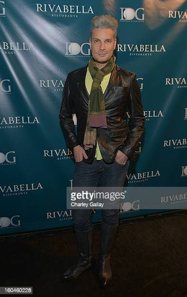 Cameron Silver attends the Grand Opening of RivaBella Ristorante on January 31 2013 in West Hollywood California