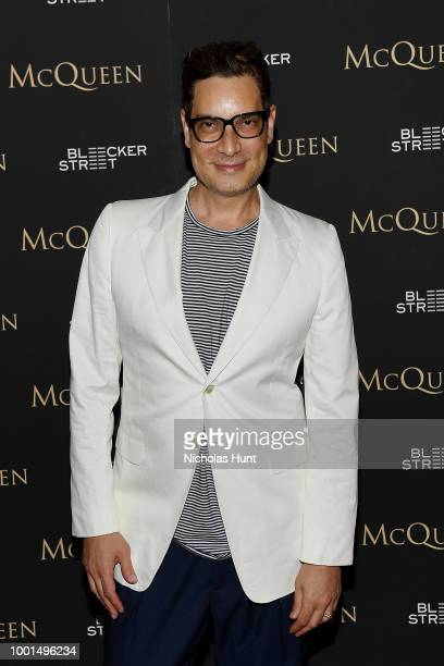 Photographer Tommy Ton attends the 'McQueen' New York Screening at Crosby Street Hotel on July 18 2018 in New York City