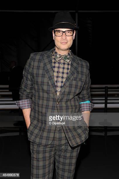 Cameron Silver attends the Reem Acra fashion show during MercedesBenz Fashion Week Spring 2015 at The Salon at Lincoln Center on September 8 2014 in...