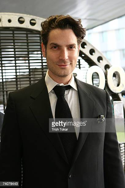 Cameron Silver, owner of Decades, Inc., attends the opening of the 2007 Los Angeles Modernism Show Celebrating Design of the 20th Century at the...