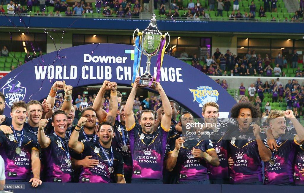 Storm v Rhinos - World Club Challenge : Fotografía de noticias