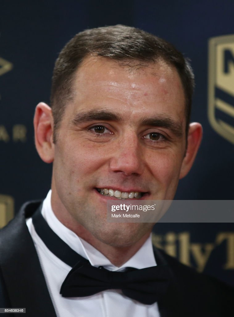 Cameron Smith arrives ahead of the 2017 Dally M Awards at The Star on September 27, 2017 in Sydney, Australia.