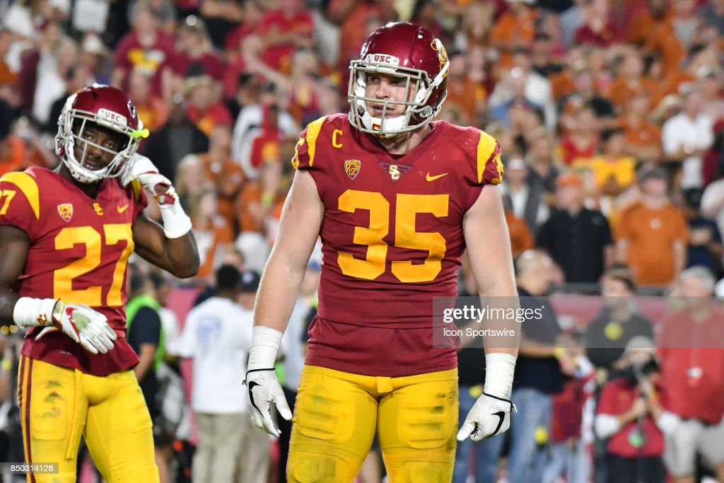 COLLEGE FOOTBALL: SEP 16 Texas at USC : News Photo