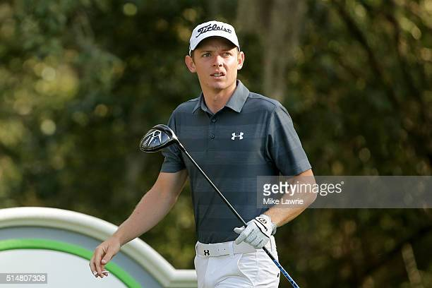 Cameron Smith of Australia hits off the 11th tee during the second round of the Valspar Championship at Innisbrook Resort Copperhead Course on March...