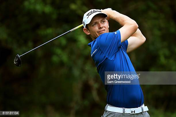 Cameron Smith of Australia hits off the third tee during the third round of the Valspar Championship at Innisbrook Resort Copperhead Course on March...