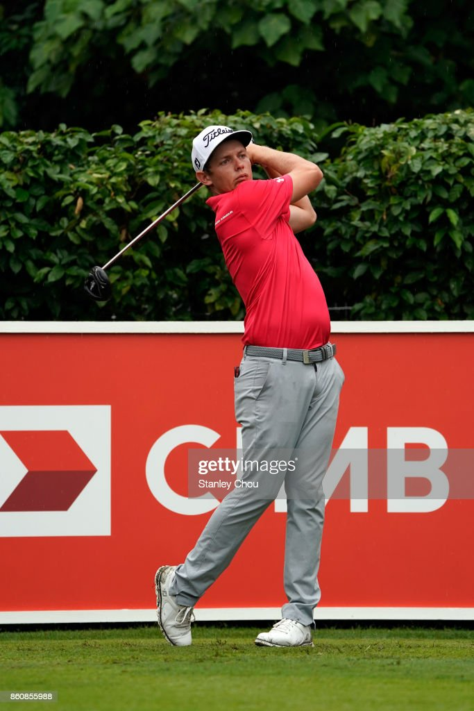 Cameron Smith of Australia in action during round two of the 2017 CIMB Classic at TPC Kuala Lumpur on October 13, 2017 in Kuala Lumpur, Malaysia.