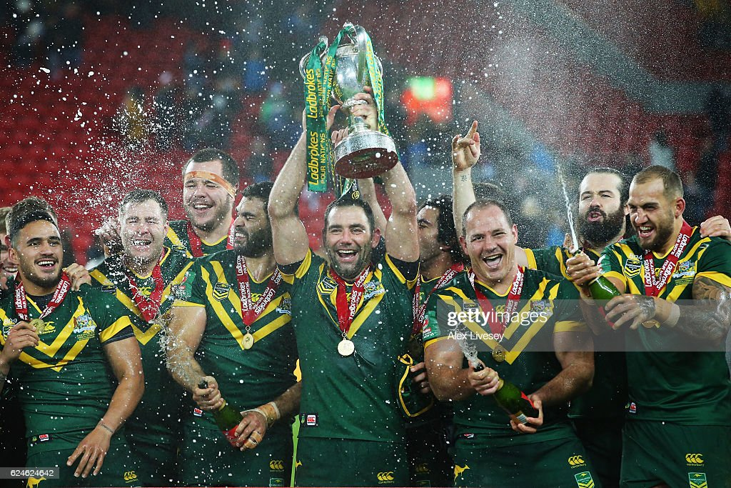 New Zealand v Australia - Four Nations Final : News Photo
